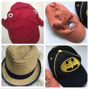Baby boy summer hat bundle